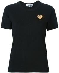 Женская черная футболка от Comme des Garcons