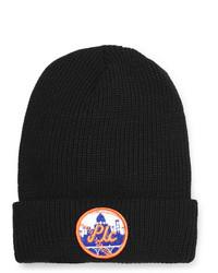 Мужская черная шапка с принтом от PASADENA LEISURE CLUB