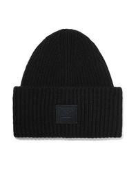 Женская черная шапка от Acne Studios