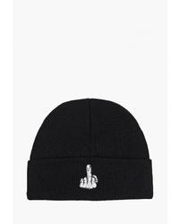 Мужская черная шапка от Befree