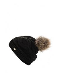 Женская черная шапка от CAPO