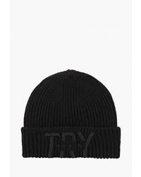 Мужская черная шапка от Colin's
