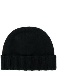 Мужская черная шапка от Drumohr
