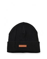 Мужская черная шапка от Jack & Jones