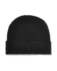 Женская черная шапка от Johnstons of Elgin
