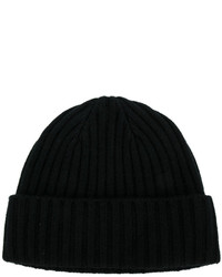 Мужская черная шапка от N.Peal