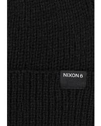 Мужская черная шапка от Nixon