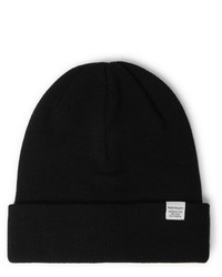 Мужская черная шапка от Norse Projects