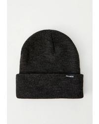 Мужская черная шапка от Pull&Bear