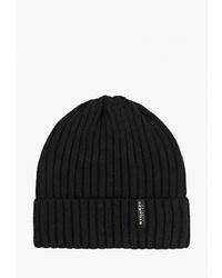 Мужская черная шапка от Regarzo