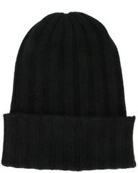 Женская черная шапка от The Elder Statesman