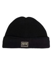 Мужская черная шапка от VERSACE JEANS COUTURE