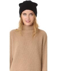Женская черная шапка от White + Warren
