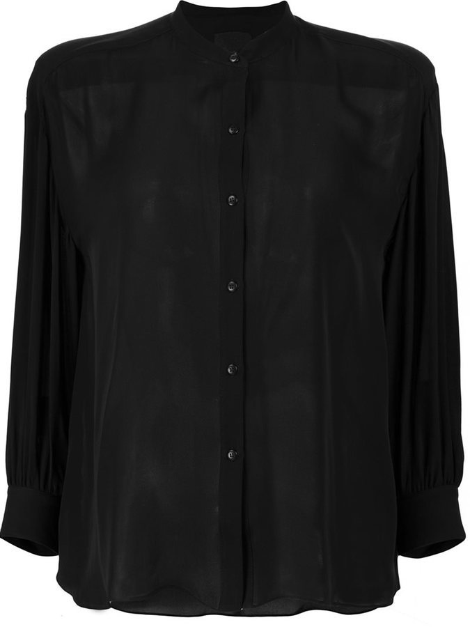 black silk shirt - HD 800×1067