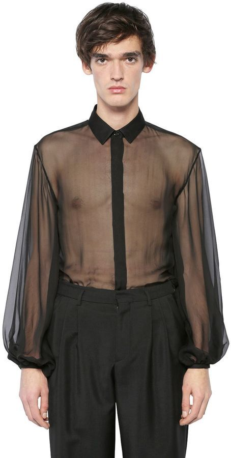 black silk shirt - 454×900