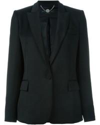 Женская черная шерстяная куртка от Stella McCartney