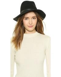 Женская черная шерстяная шляпа от Rag & Bone