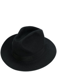 Женская черная шляпа от Dsquared2