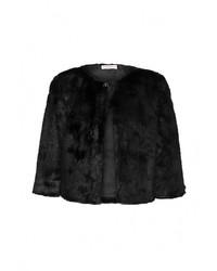 Женская черная шуба от Fontana 2.0