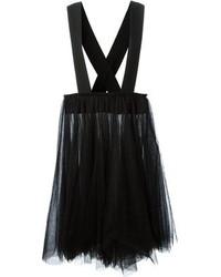 06b5e35ca38 ... Черная юбка-миди из фатина со складками от Comme des Garcons