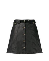 Черная юбка на пуговицах от Versace Jeans