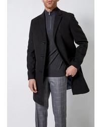 Черное длинное пальто от Burton Menswear London