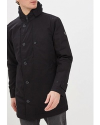 Черное длинное пальто от Colin's