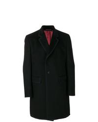 Черное длинное пальто от Gucci