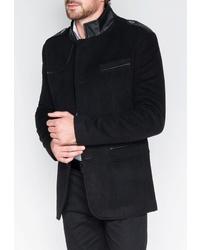 Черное длинное пальто от OMBRE