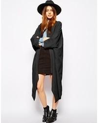 Женское черное кимоно от Asos