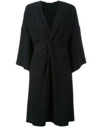 Женское черное кимоно от Rosetta Getty