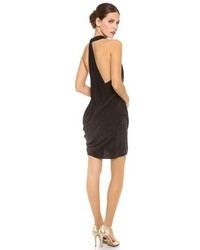 Женское черное коктейльное платье от Zimmermann