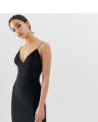 Черное облегающее платье от Fashionkilla Tall