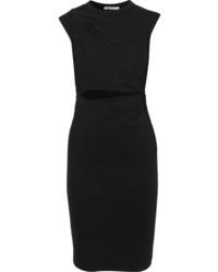 Черное облегающее платье от T by Alexander Wang