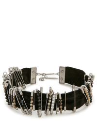Женское черное ожерелье-чокер с украшением от Marc Jacobs