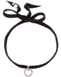 Черное ожерелье-чокер