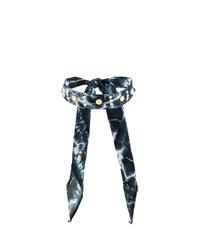 Черное ожерелье-чокер от Dannijo