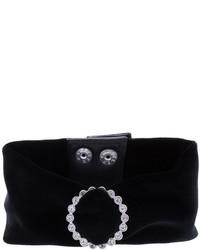 Черное ожерелье-чокер от G.V.G.V.