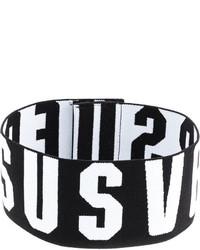 Женское черное ожерелье-чокер от Versus