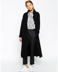 Женское черное пальто дастер от Asos