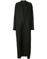 Женское черное пальто дастер от Haider Ackermann