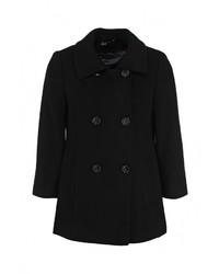 Женское черное пальто от adL