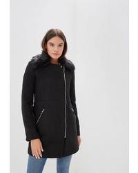 Женское черное пальто от Befree