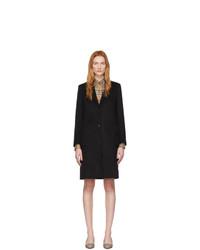 Женское черное пальто от Burberry