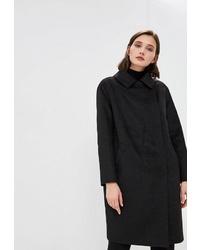 Женское черное пальто от Gamelia