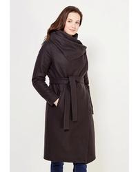 Женское черное пальто от GK Moscow