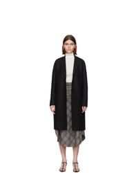 Женское черное пальто от Harris Wharf London