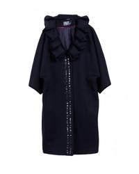 Женское черное пальто от Heresis