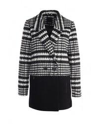 Женское черное пальто от Ichi