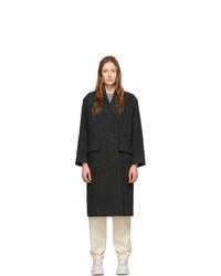 Женское черное пальто от Isabel Marant Etoile